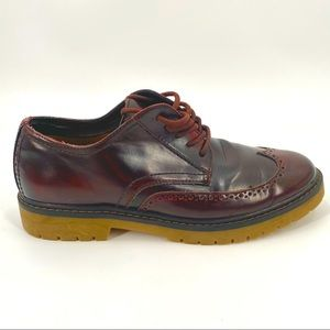 Pull And Bear Lug Sole Shoes Mens EUR 41 Brown